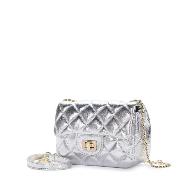 Plain PU Purse Small Women's Crossbody Bag