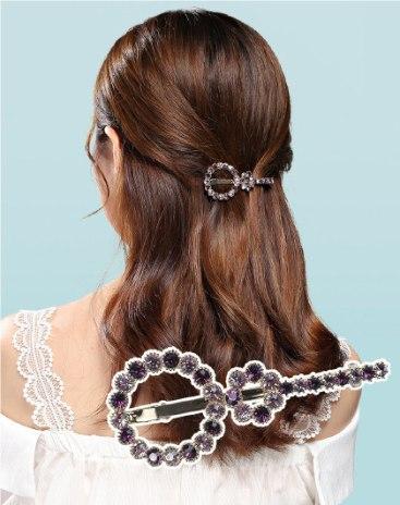 Purple Simple Hair Accessories