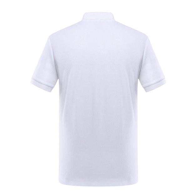 White Short Sleeve Quick Drying Men's T-Shirt