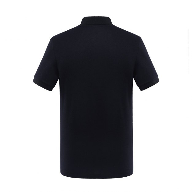 Black Short Sleeve Quick Drying Men's T-Shirt