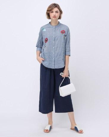 Gray Women's Shirt