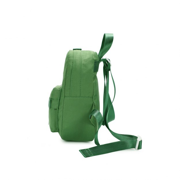 Green Oxford Cloth Small Women's Backpack