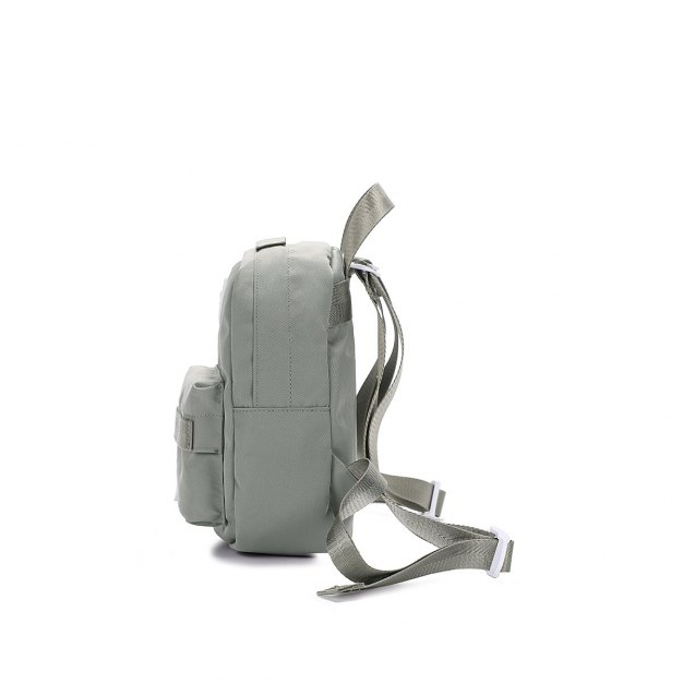Gray Oxford Cloth Small Women's Backpack