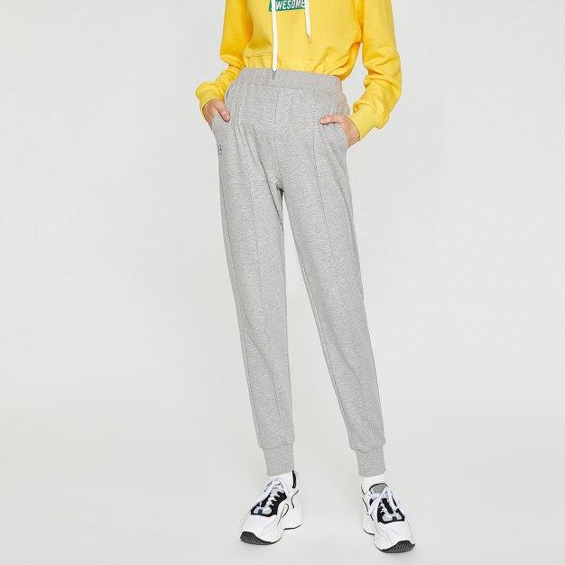 Gray Women's Pants
