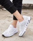 Gray Round Head Anti Skidding Men's Casual Shoes