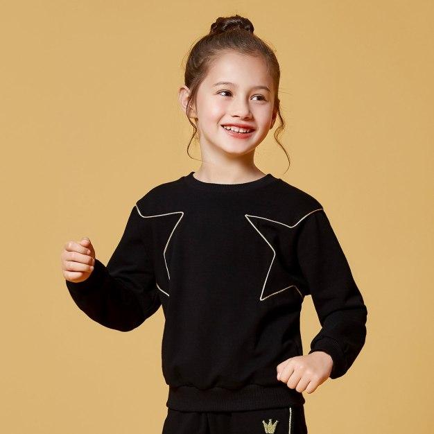 Black Girls' Sweatshirt