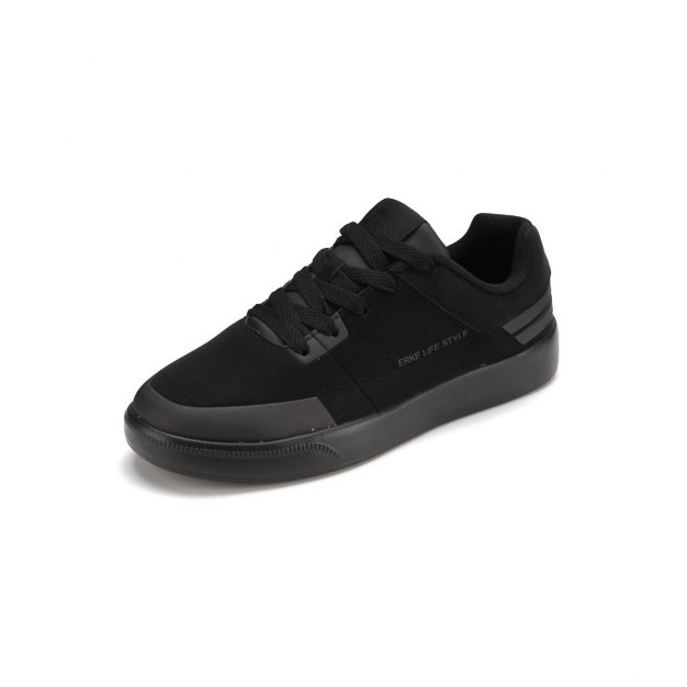 Black Anti Skidding Office Men's Sneakers