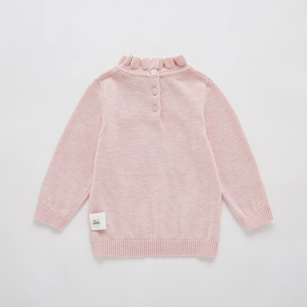 Long Sleeve Cotton(≥95%) One-Piece Baby's Sweater
