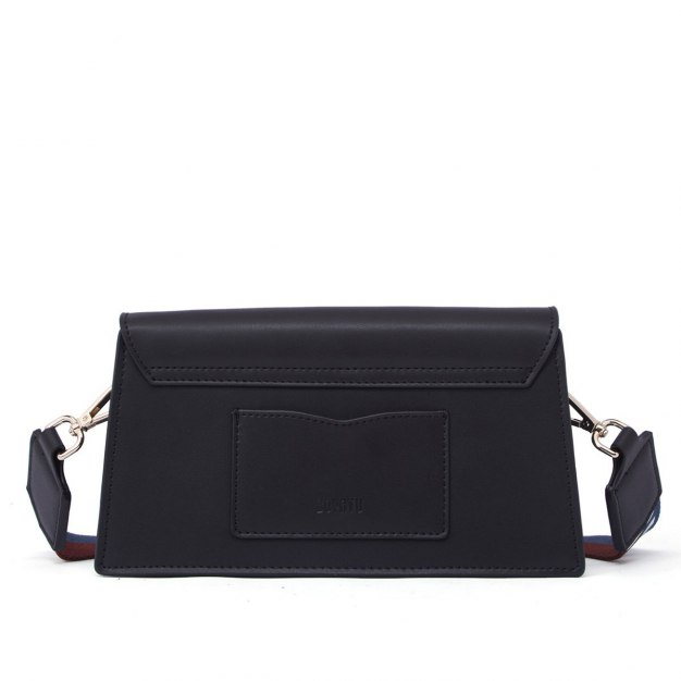 Black Cowhide Leather Pig Bag Mini Women's Crossbody Bag