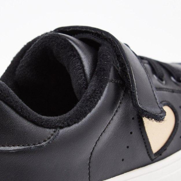 Black Girls' Canvas Shoes