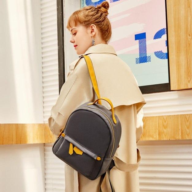 PU Small Plain Women's Backpack