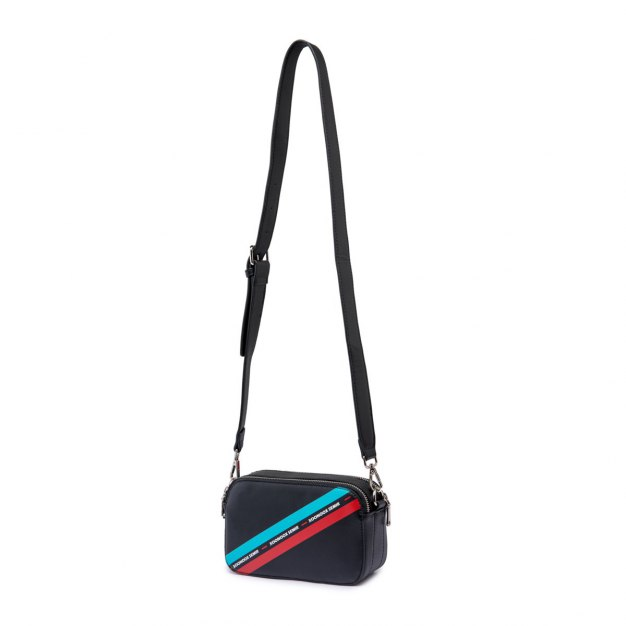 Black PU Mini Women's Crossbody Bag