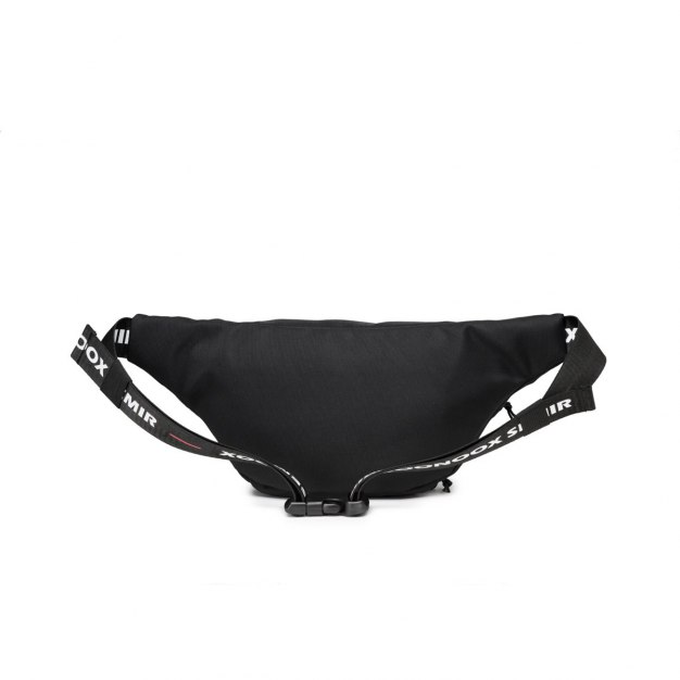 Black Nylon Small Women's Crossbody Bag