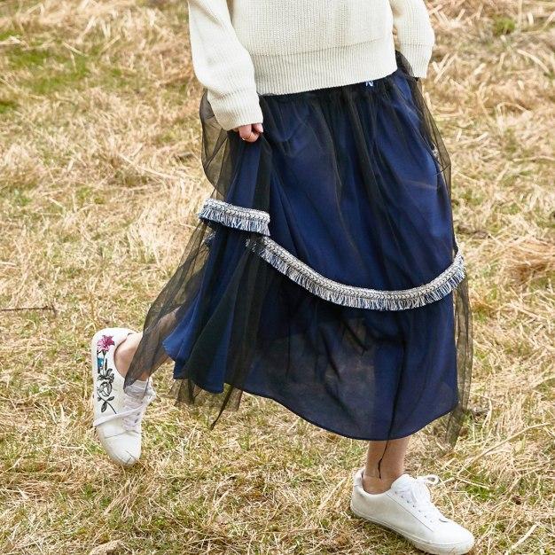 Blue Women's Skirt