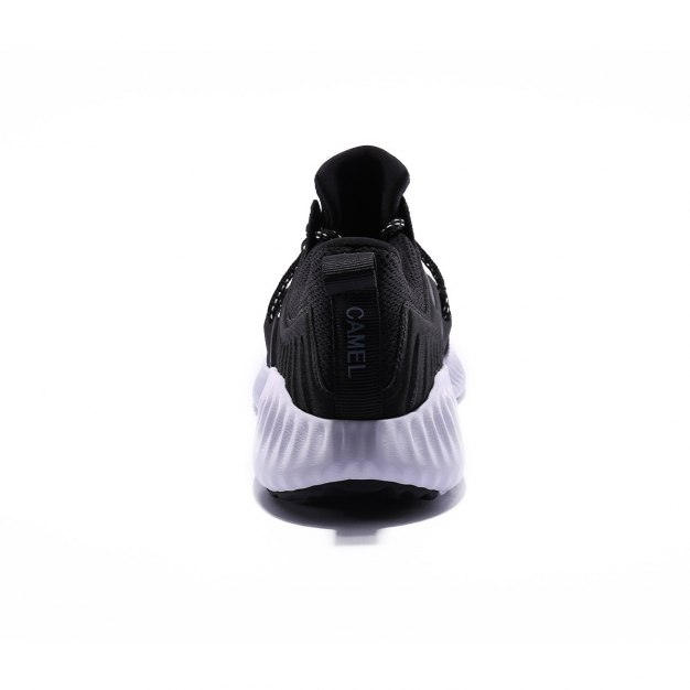 Black Shock-Absorbing Women's Casual Shoes