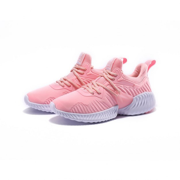 Red Shock-Absorbing Women's Casual Shoes
