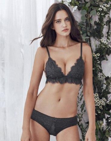 Gray Women's Bra
