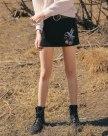 Black Women's Bodycon Skirt