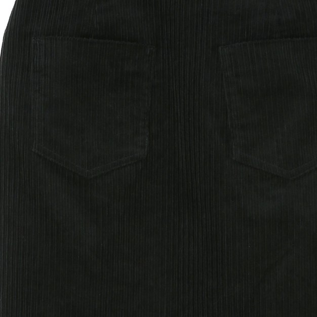 Black 3/4 Length Women's Pencil Skirt