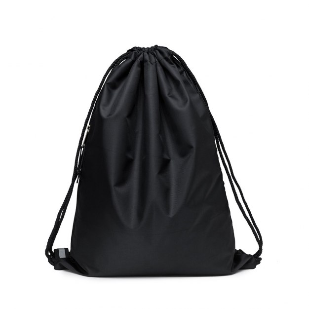 Black Polyester Medium Women's Backpack