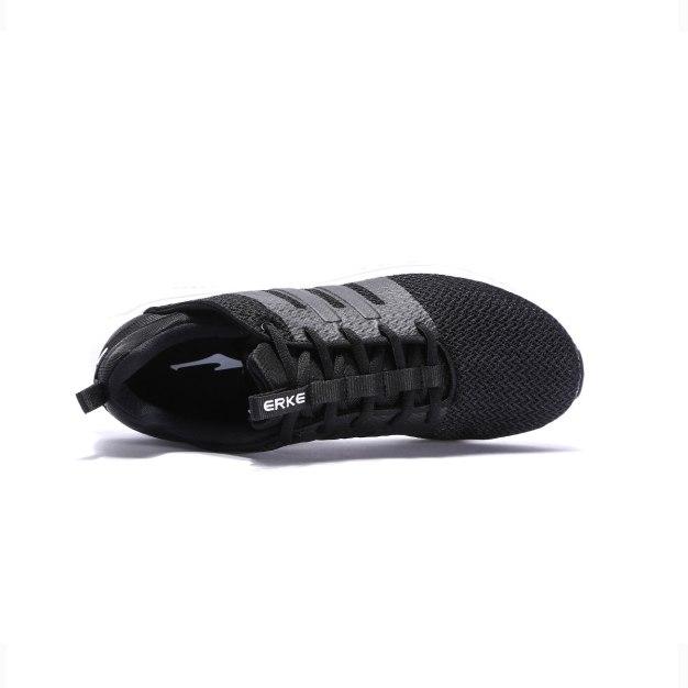 Black Anti Skidding Outdoor Men's Sneakers