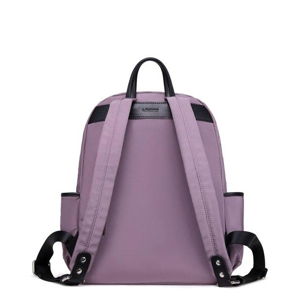 Purple Big Plain Women's Backpack