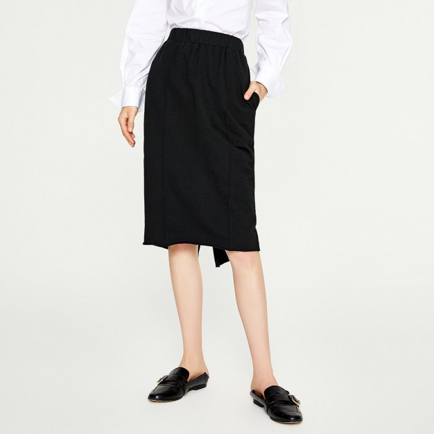 Black Women's Skirt