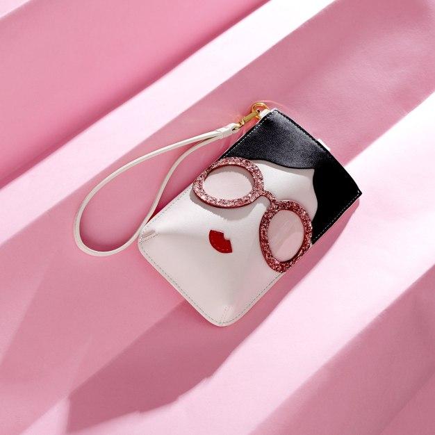 White PU Purse(Long) Small Women's Wallet