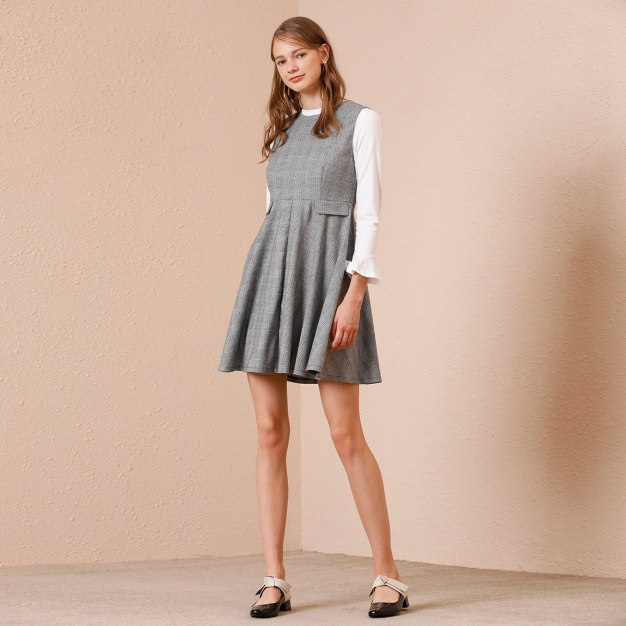 Gray Women's Dress