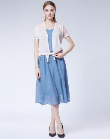 Plain Short Sleeve Standard Women's Knitwear