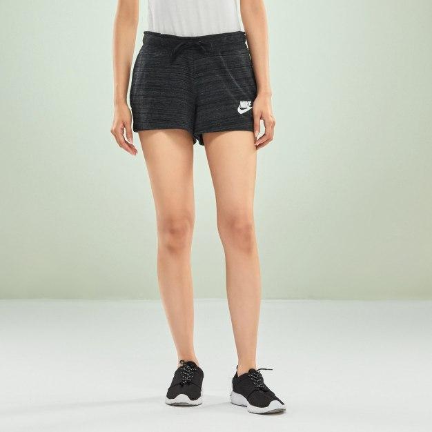 Gray Short Portable Women's Pants