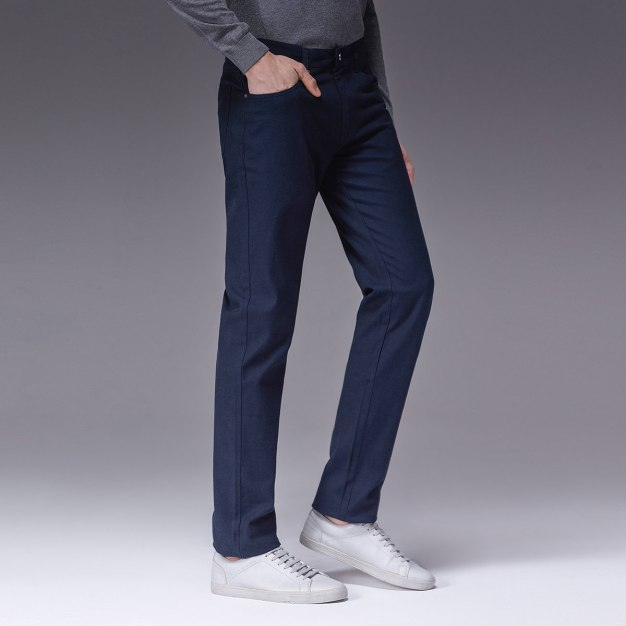 Blue Men's Pants