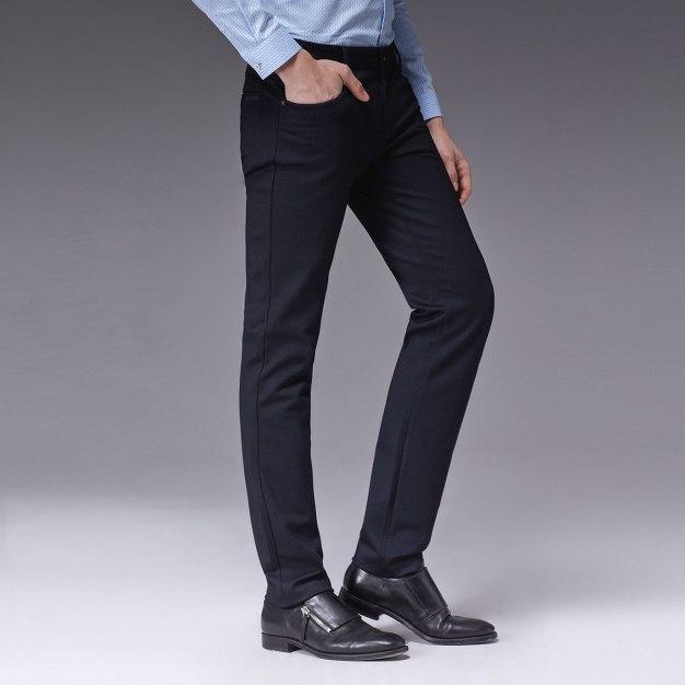 Blue Men's Pants