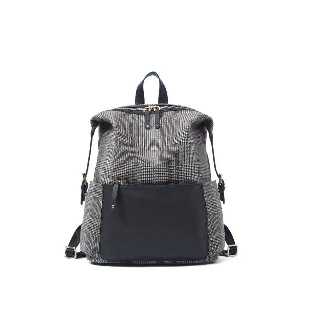 Gray Big Women's Backpack