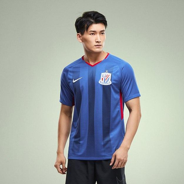 Blue Short Sleeve Standard V Neck Men's T-Shirt