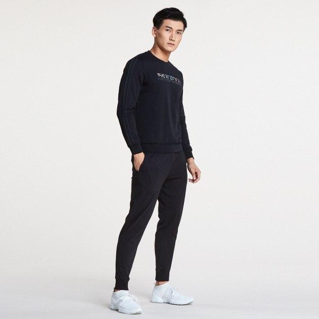 Black Warm Standard Men's Sweatshirt