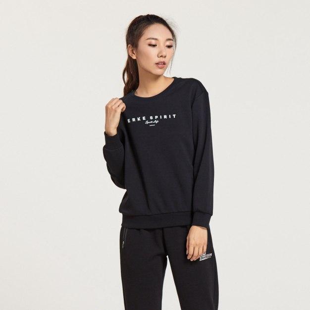 Black Warm Standard Women's Sweatshirt