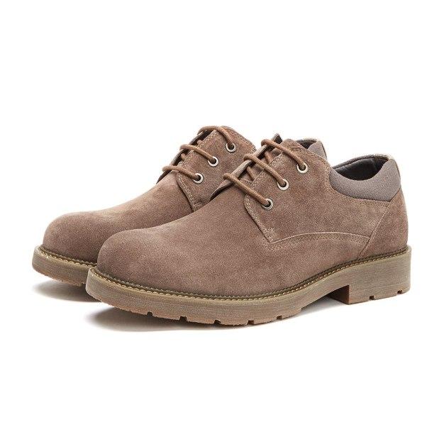 Beige Round Head Men's Outdoor Causal Shoes