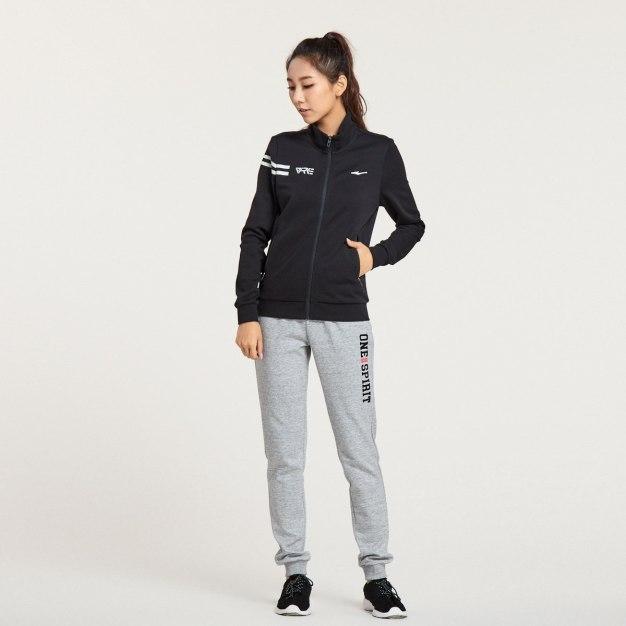 Black Warm Fitted Women's Sweatshirt