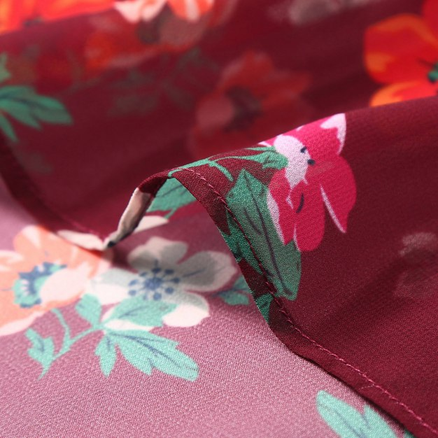 Sleeve 3/4 Length A Line Loose Women's Dress