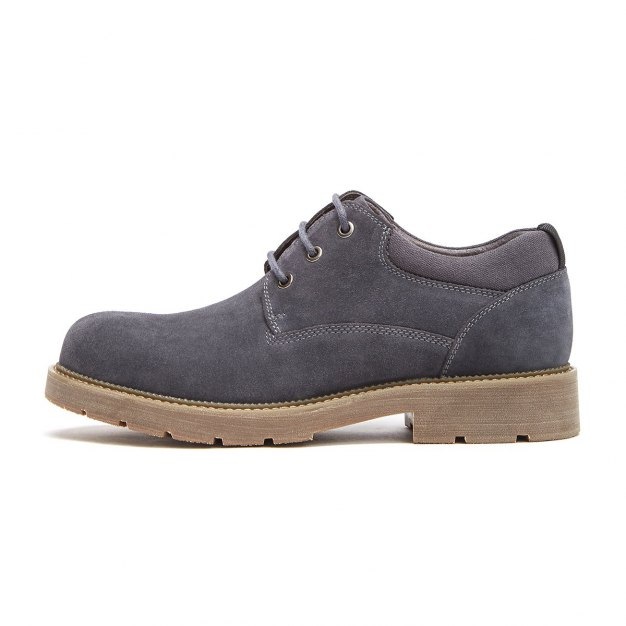 Gray Round Head Men's Outdoor Causal Shoes