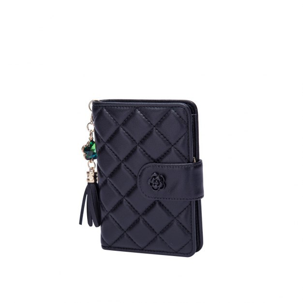 Sheepskin Purse(Short) Small Women's Wallet