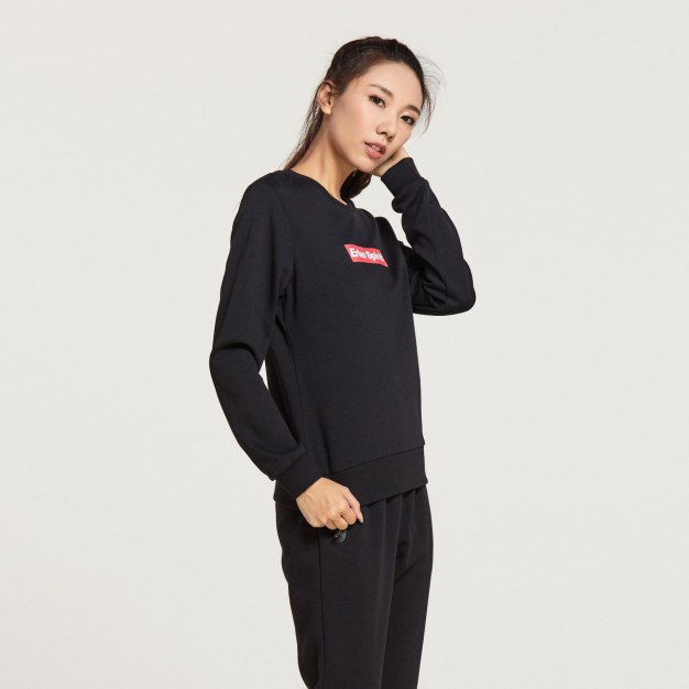 Black Warm Standard Women's Sweatshirt