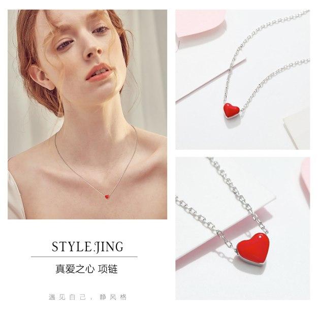 Red Sweetheart Pendant