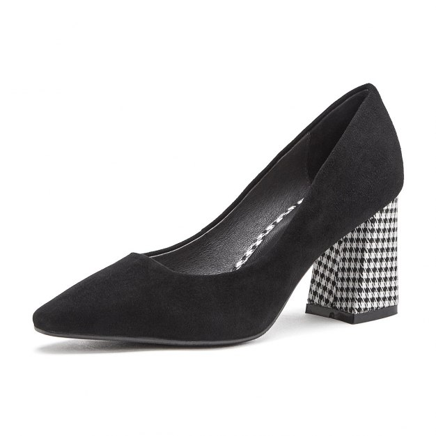 Black Pointed High Heel Women's Outdoor Shoes