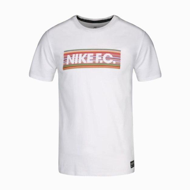 White Short Sleeve Quick Drying Round Neck Men's T-Shirt