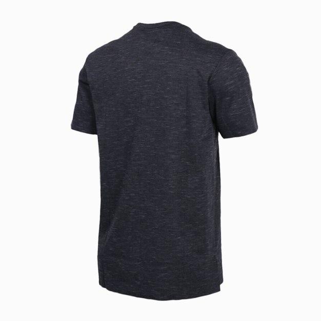 Black Short Sleeve Quick Drying Round Neck Men's T-Shirt