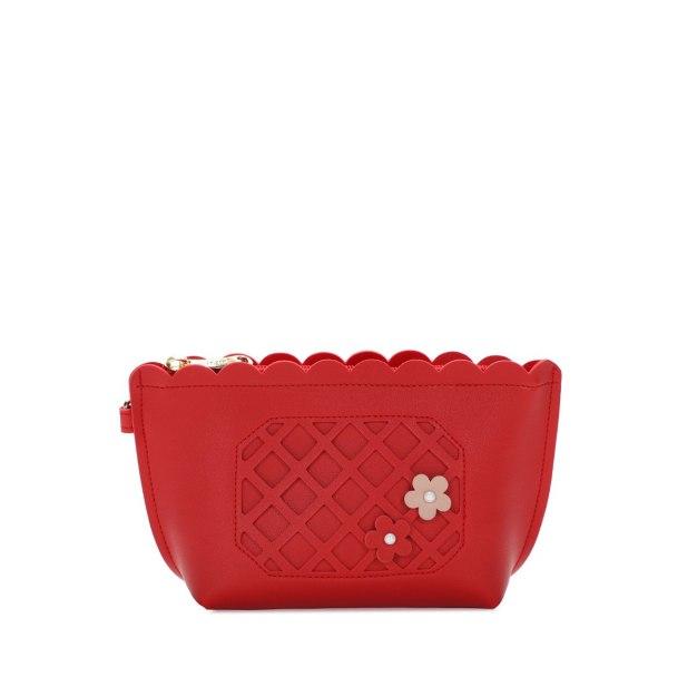 Red Women's Wristlet