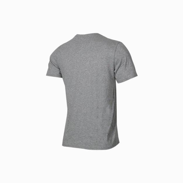 그레이 반팔 표준 남성 티셔츠