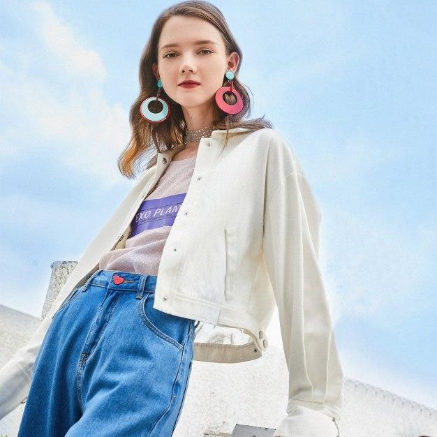 White Women's Outerwear